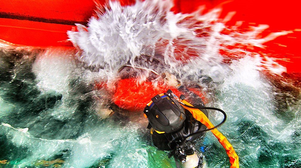 Speed, Reliable, Quality and SAFE! – No Scuba is Allowed.